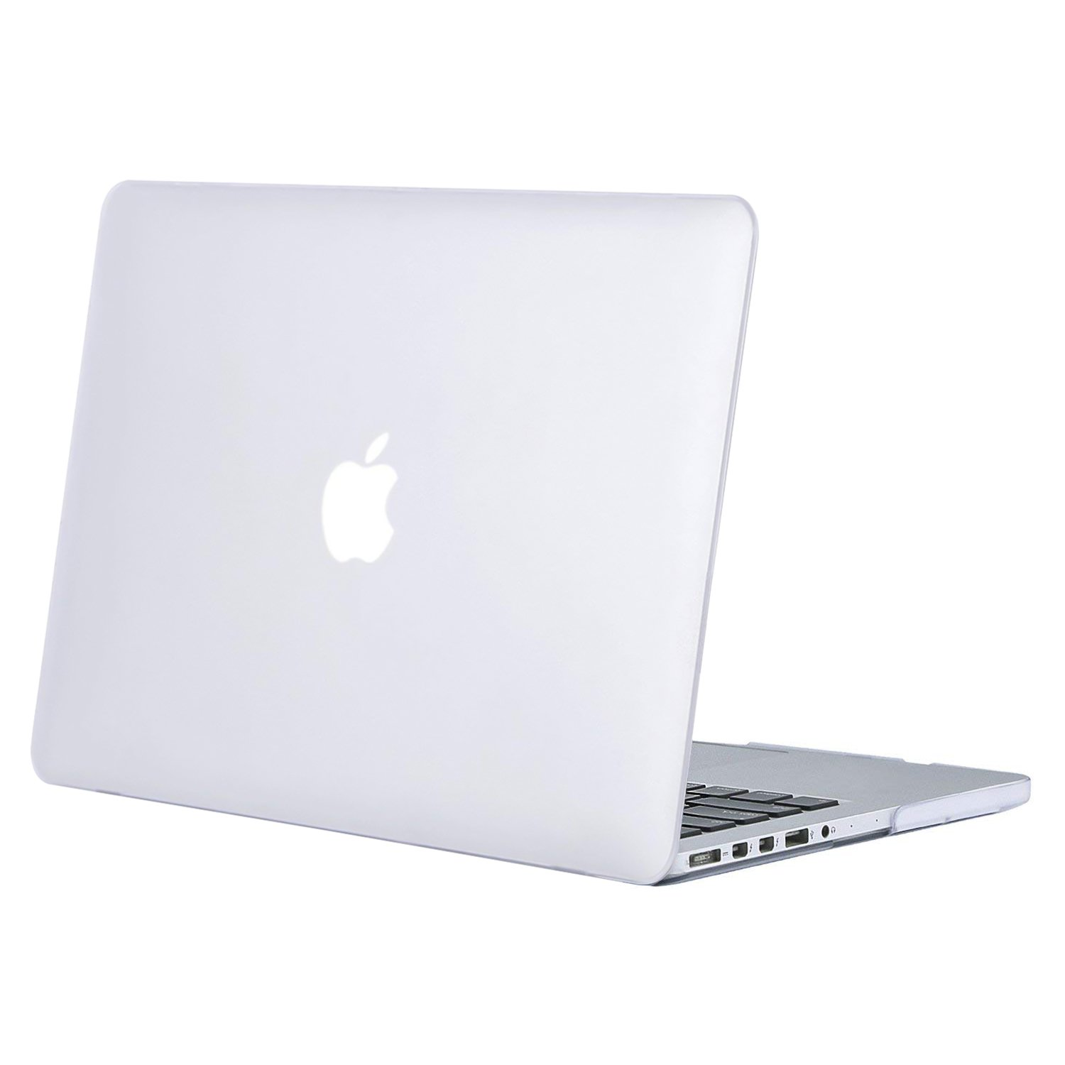 buy online d17f2 193b5 MOSISO Plastic Hard Shell Case Cover Only Compatible Older Version MacBook  Pro Retina 13 Inch (Model: A1502 & A1425) (Release 2015 - end 2012), Frost