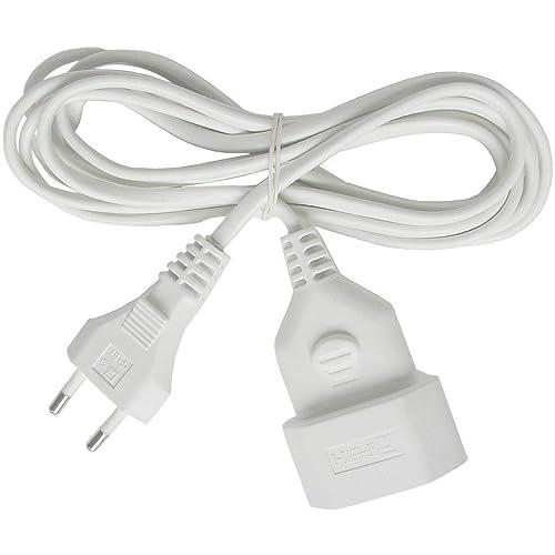Brennenstuhl 1161660 Cable de Plástico, 230 V, Blanco