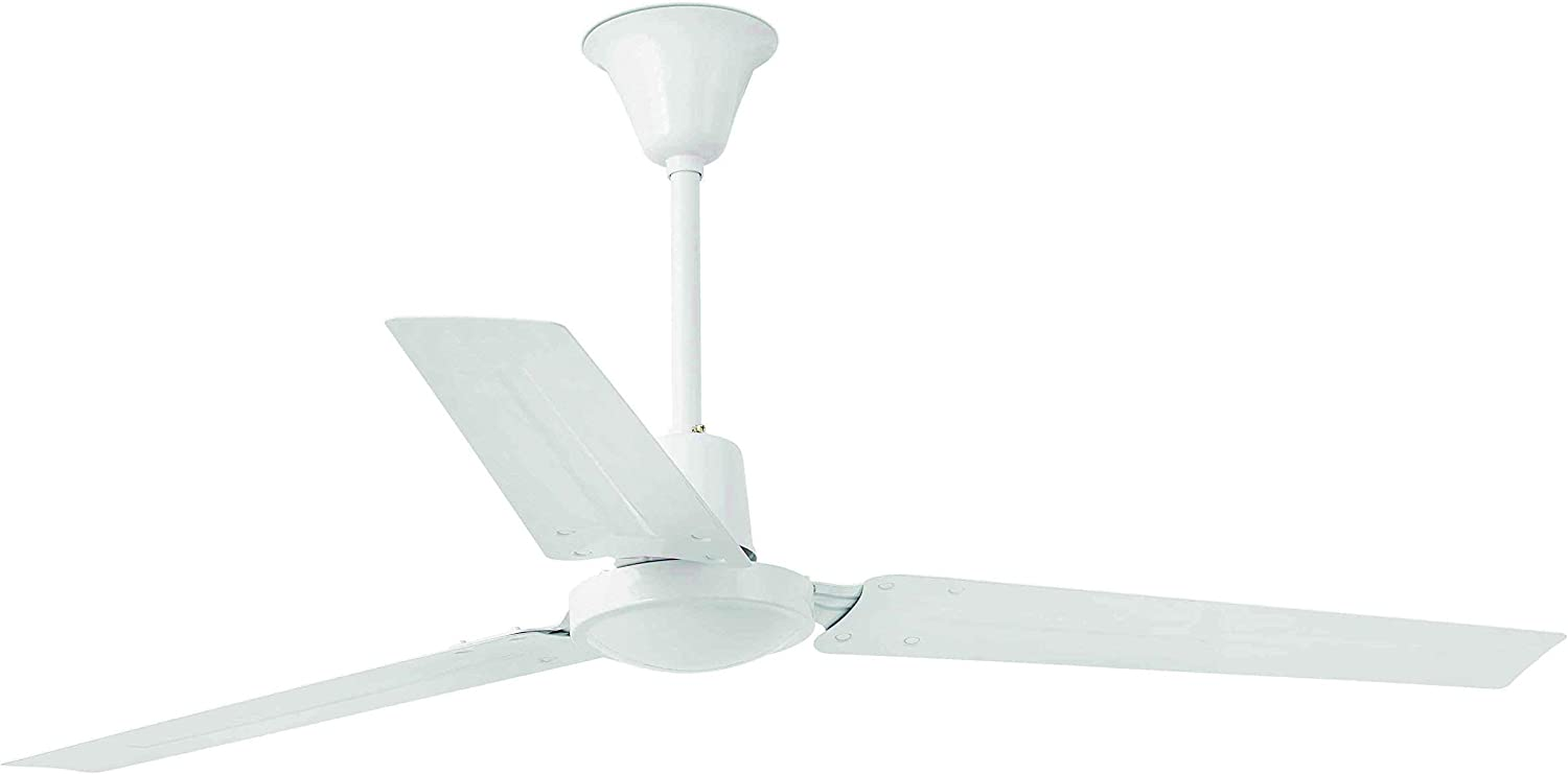 Faro Barcelona 33001 - INDUS Ventilador De Techo, color Blanco, 3 ...