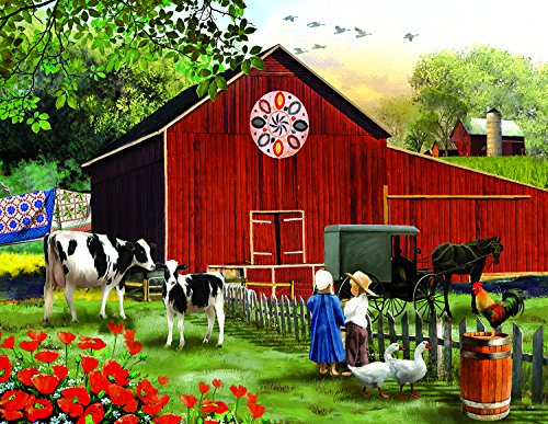 Serenity in The Country - 1000+pc Jigsaw Puzzle by Sunsout