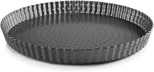 IBILI 24 cm Molde para Tarta Perforado con Fondo extra/íble