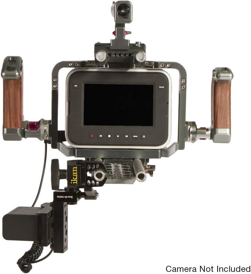 Ikan BMC-PWR-PN-S Blackmagic Cinema DV Power Kit with Clamp for Sony L Black
