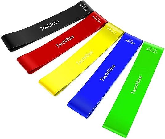 RESISTANCE Loop Bands-Lot de 5 Exercice Bandes pour améliorer la mobilité et le Yoga,
