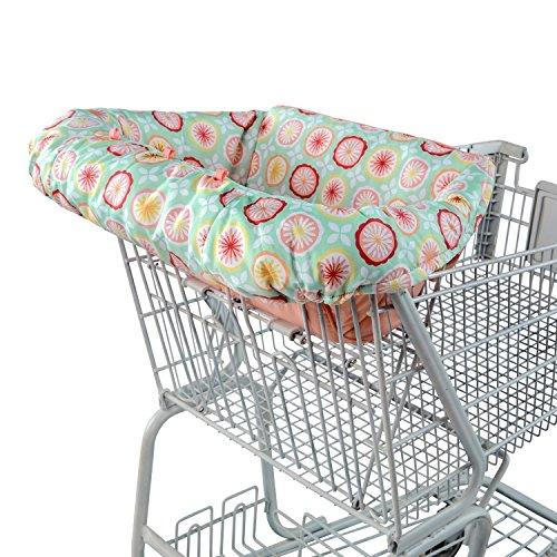 Comfort & Harmony Cozy Posies Cart Cover, Pink by Comfort & Harmony