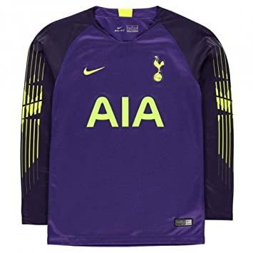 new product fc763 1dfcc Nike 2018-2019 Tottenham Home Goalkeeper Shirt (Purple ...