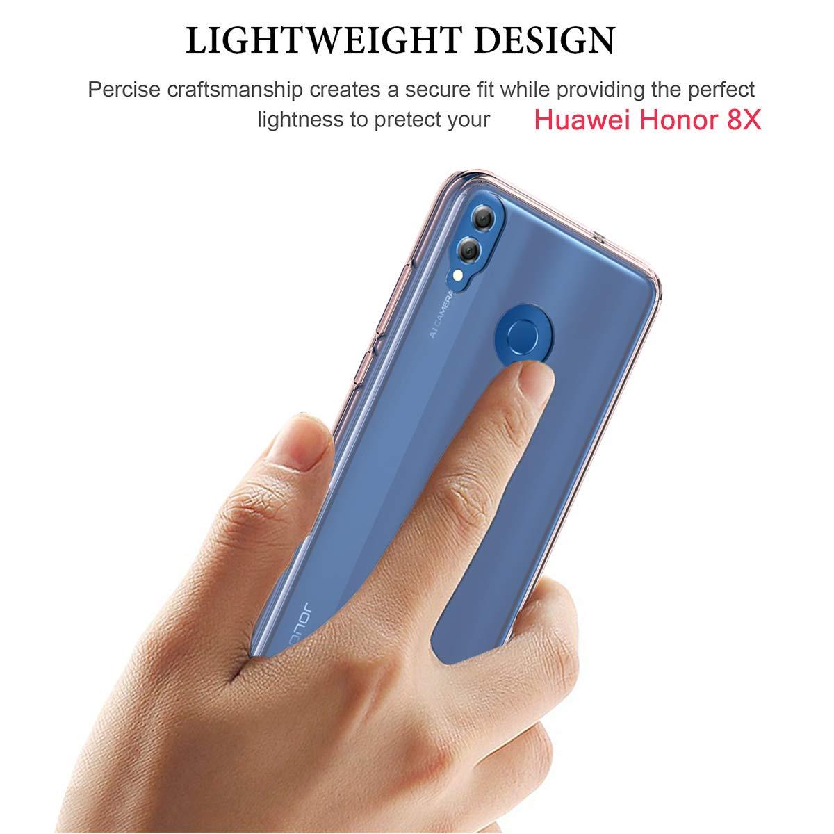 Amazon.com: Ymhxcy - Carcasa para Huawei Honor 8X (incluye ...
