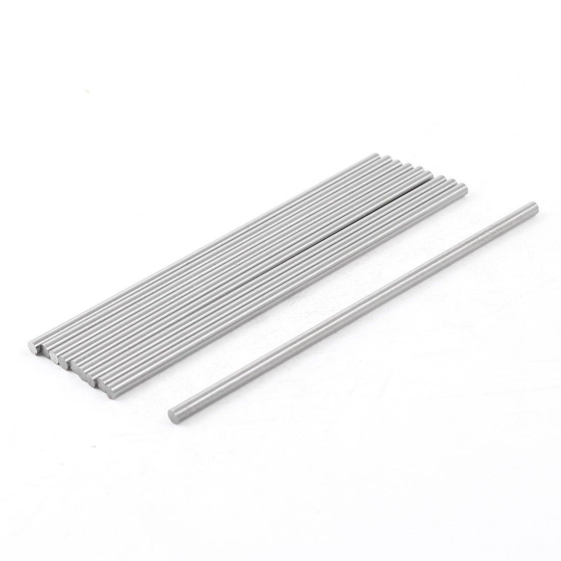 10 PCS 3mm Diameter 100mm Long Boring Tool Round Turning Lathe Bars Sourcingmap a14021900ux0145