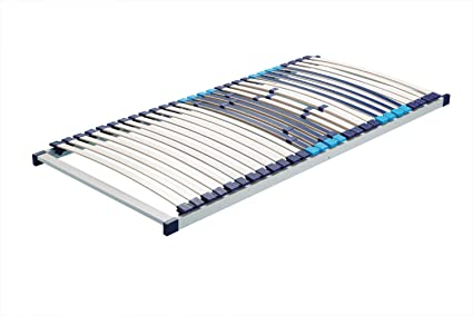 Hn8 Trio Plus Plan somier con 28 listones de extra resistente de cómodo y madera contrachapada-somier de láminas, 80 x 210