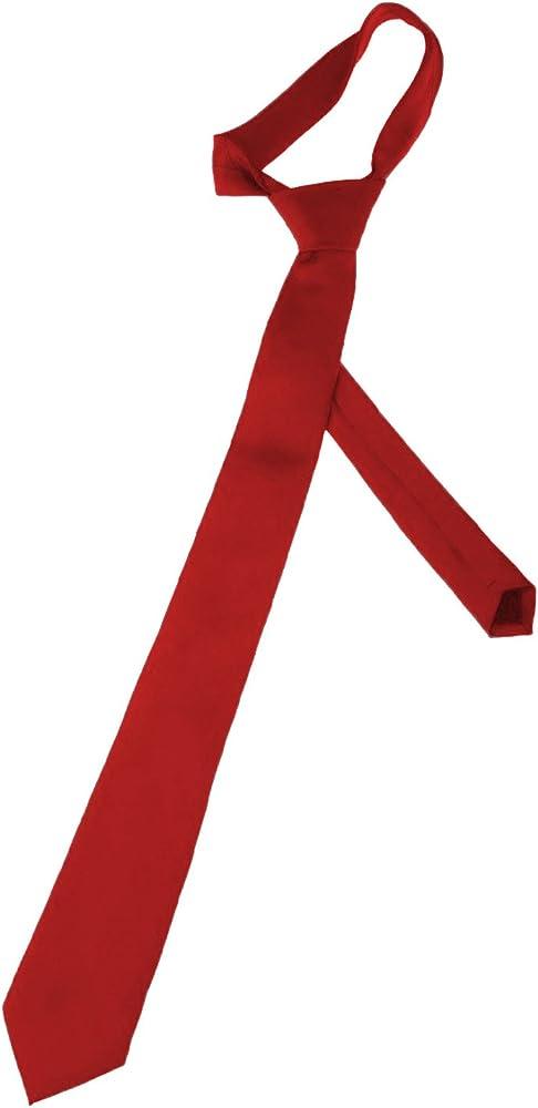 K. Alexander Corbata de poliéster color rojo: Amazon.es: Ropa y ...