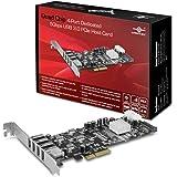 Vantec Quad Chip 4-Port Dedicated 5Gbps USB 3.0 PCIe Host Card (UGT-PCE430-4C)