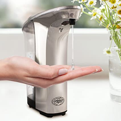 Nice Premium Automatic Touchless Soap Dispenser By Lathered Elegance    Great  For Hand Sanitizer U0026 Hand