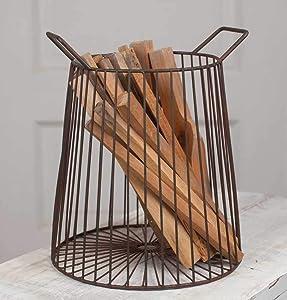 Colonial Tin Farmhouse Basket
