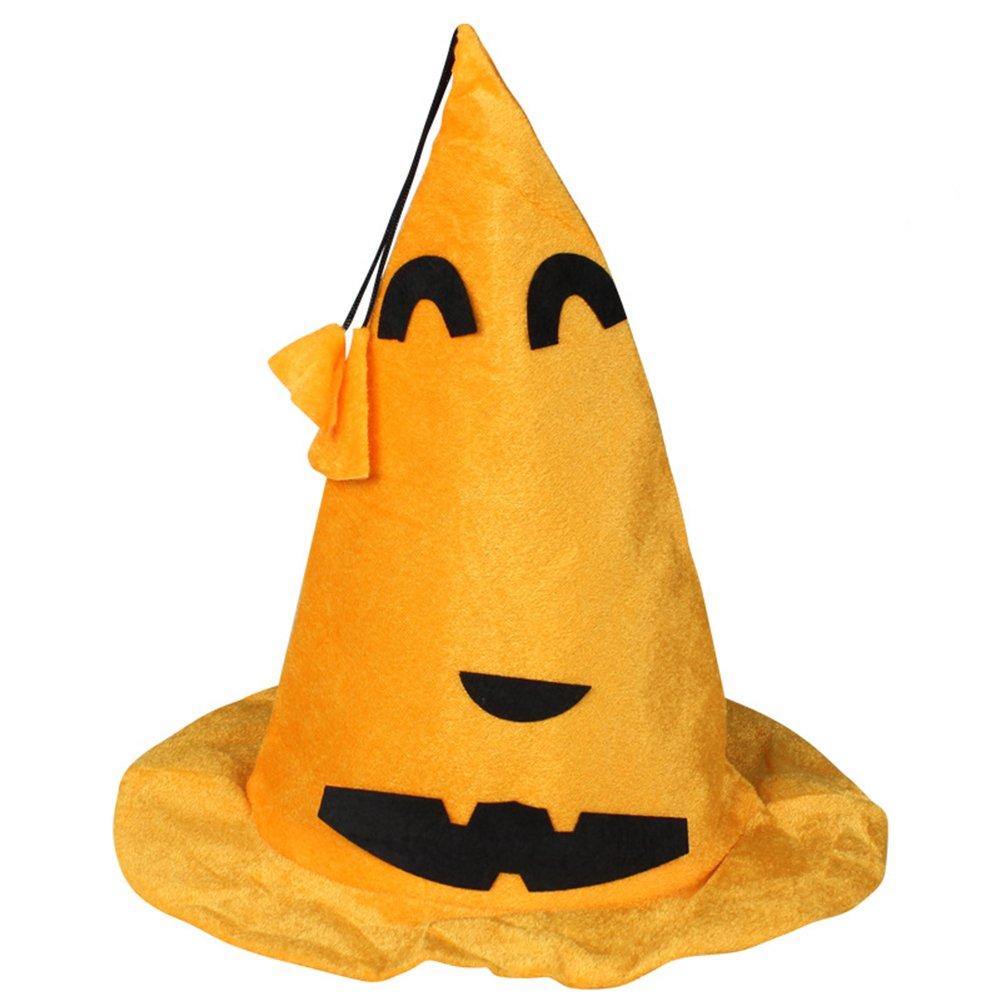 Leisial/™ 3pcs Sombrero de Halloween Tela Gorra de Calabaza Decoraci/ón de Halloween Halloween Disfraz Viste a Accesorios para Ni/ños Adultos