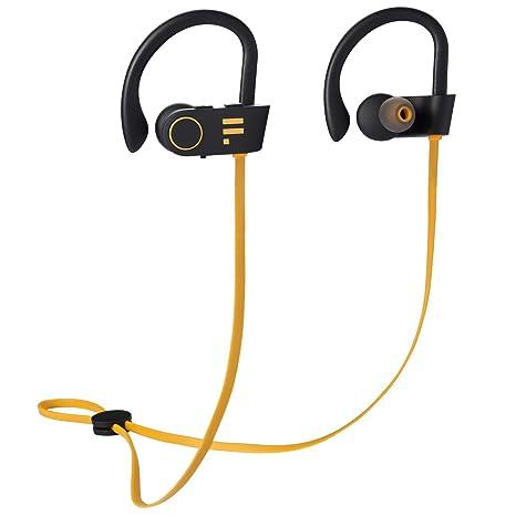 Auriculares Bluetooth de FLUID & FORM Resistencia al Agua Mejorada (IPX7) cómodos Ganchos para