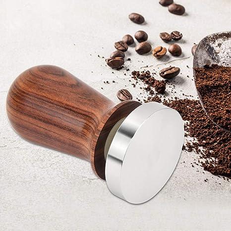 Stainless Steel Coffee Tamper Kitchen Coffee Powder Presser for Barista Espresso