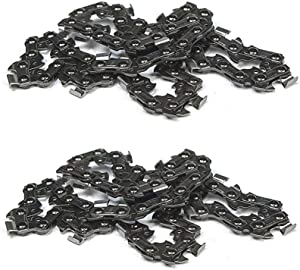 "Black & Decker CCS818 OEM Replacement (2 Pack) RC800 Chain for 8"" Chainsaw # 623382-00-2pk"