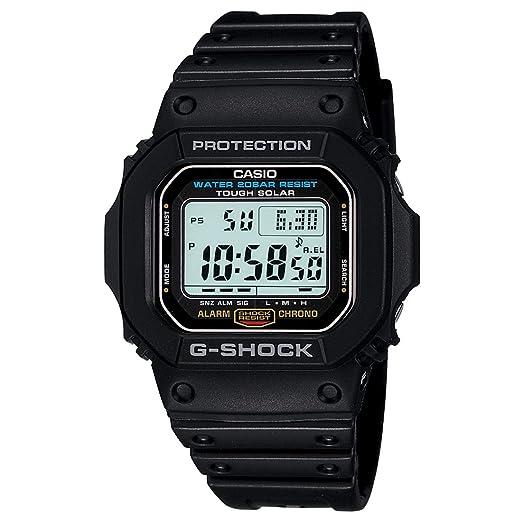 Casio Mens G5600E-1 G-Shock Grey Digital Dial Shock Resistant Watch