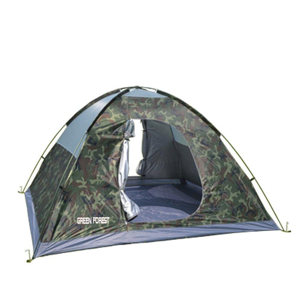 4-6人キャンプテントサンシャインモスキートバックパッキングテントはカモフラージュを持つ屋外スポーツのためのポップアップテントを組み立てる必要があります B07C165KMS B07C165KMS, タカヤマシ:38d3c02e --- ijpba.info