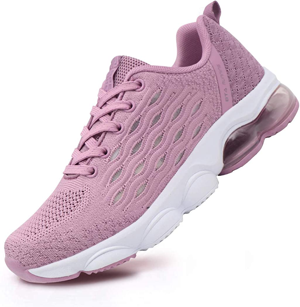 BEITA Women s Tennis Shoes Fashion Sneakers for Teen Girls Comfortable Athletic Shoes