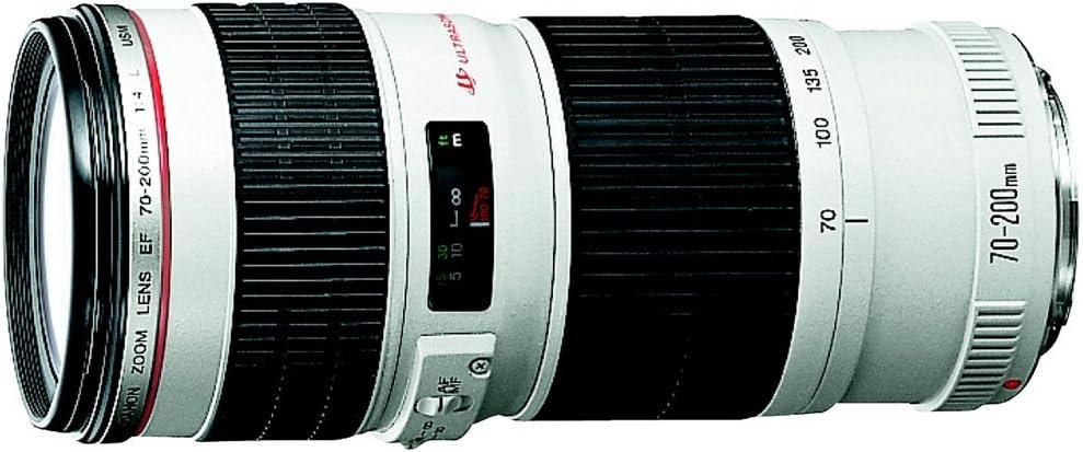 Canon EF 70-200mm f/4 L is USM Lens for Canon Digital SLR Cameras (Renewed)