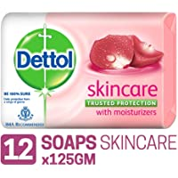 Dettol Skincare Soap - 125 g (Pack of 12)