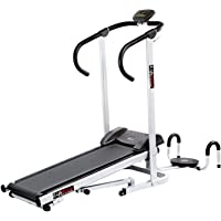 Lifeline Manual Treadmill with Twister and Push-up Wheel for Walking and Running