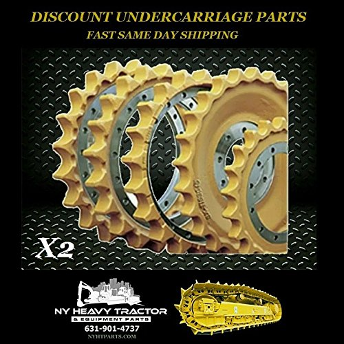 Case Case 850K Sprockets X2 Replacement Dozer Bulldozer New Crawler Sprocket
