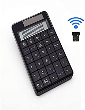 2 en 1 clavier calculatrice, pavé numérique sans fil USB