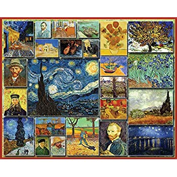 White Mountain Puzzles Great Painters Collection