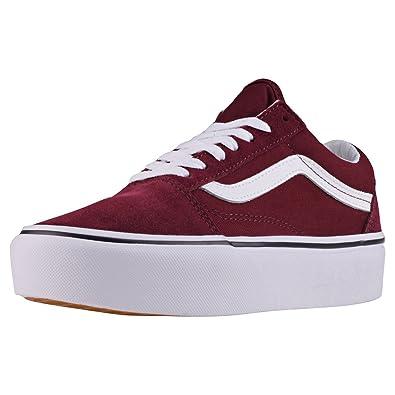 b617e3e7868 Vans Women s Old Skool Platform Trainers  Amazon.co.uk  Shoes   Bags