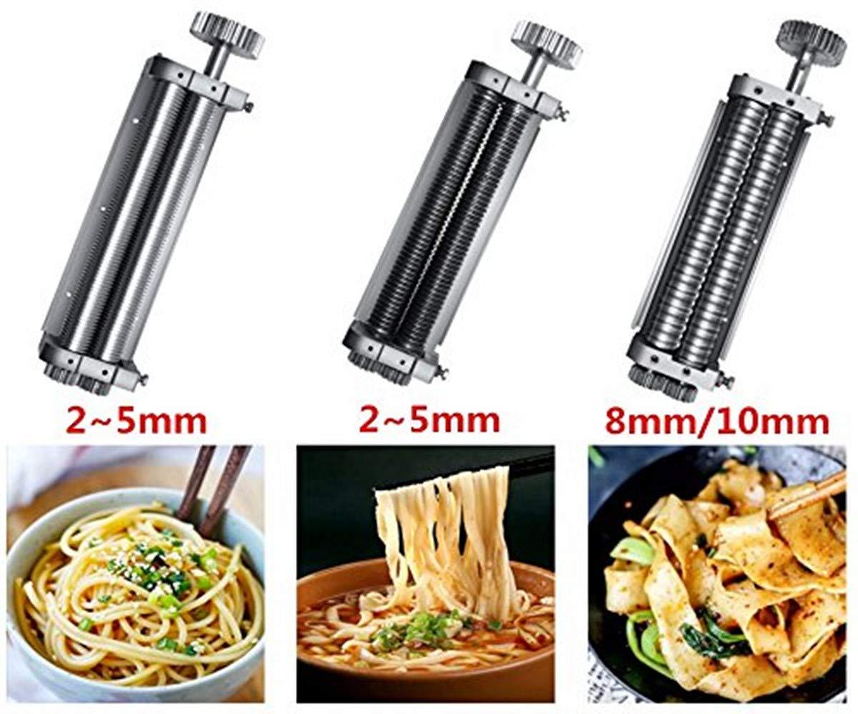 Amazon.com: Commercial Electric pasta máquina de prensa de ...