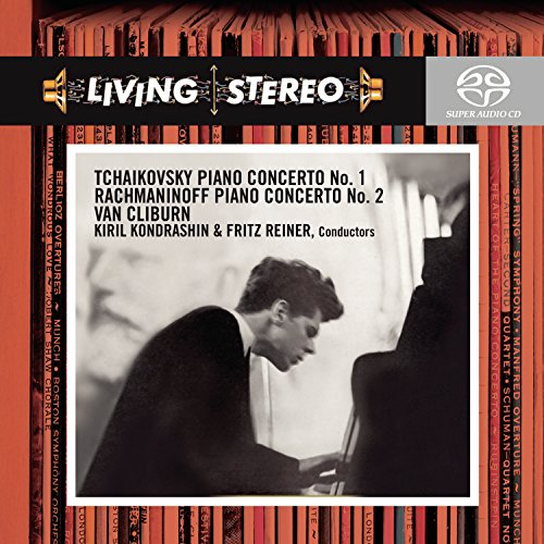 Super Audio (Tchaikovsky: Piano Concerto No. 1 / Rachmaninoff: Piano Concerto No. 2)