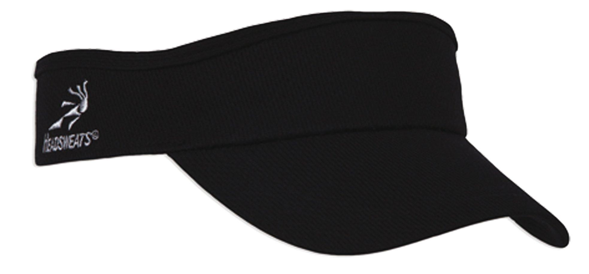 Headsweats Velocity Visor, Black,One Size