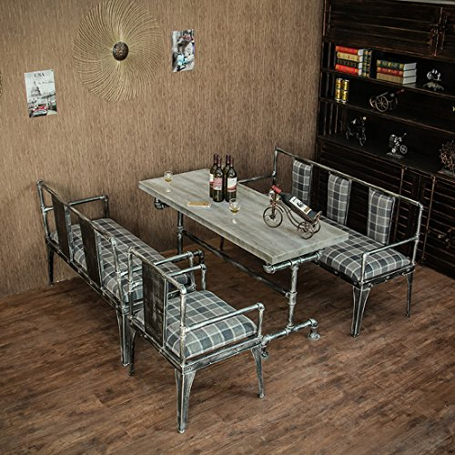 Industrial Kitchen Set: Qianniu Industrial Dining Bistro Patio Bar Coffee Table