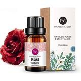 Rose Essential Oil 100% Pure Organic Therapeutic Grade Rose Oil for Diffuser, Sleep, Perfume, Massage, Skin Care, Aromatherap