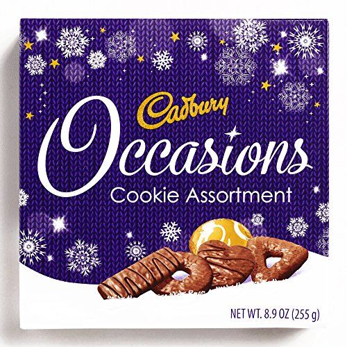 9-oz. Cadbury Occasions Biscuit Assortment 9 oz each - Gourmet Christmas Gift for the Holidays (2 Items per Order, Not per Case)
