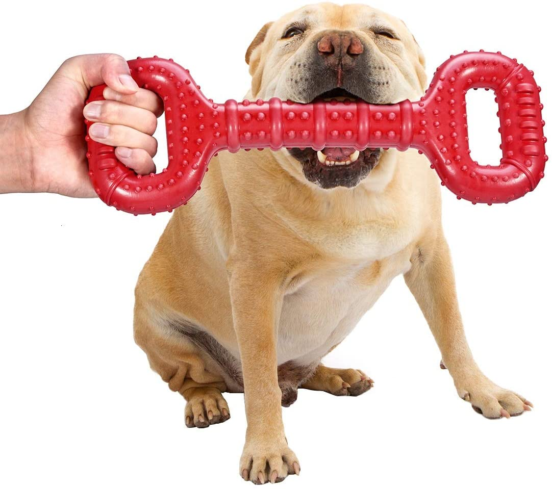 Feeko Natural Rubber Dog Toys for Aggressive Chewers Large Breed