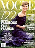 Vogue Magazine - September 2001 - 28 Pages of Linda Evangelista, + Jade Jagger & More