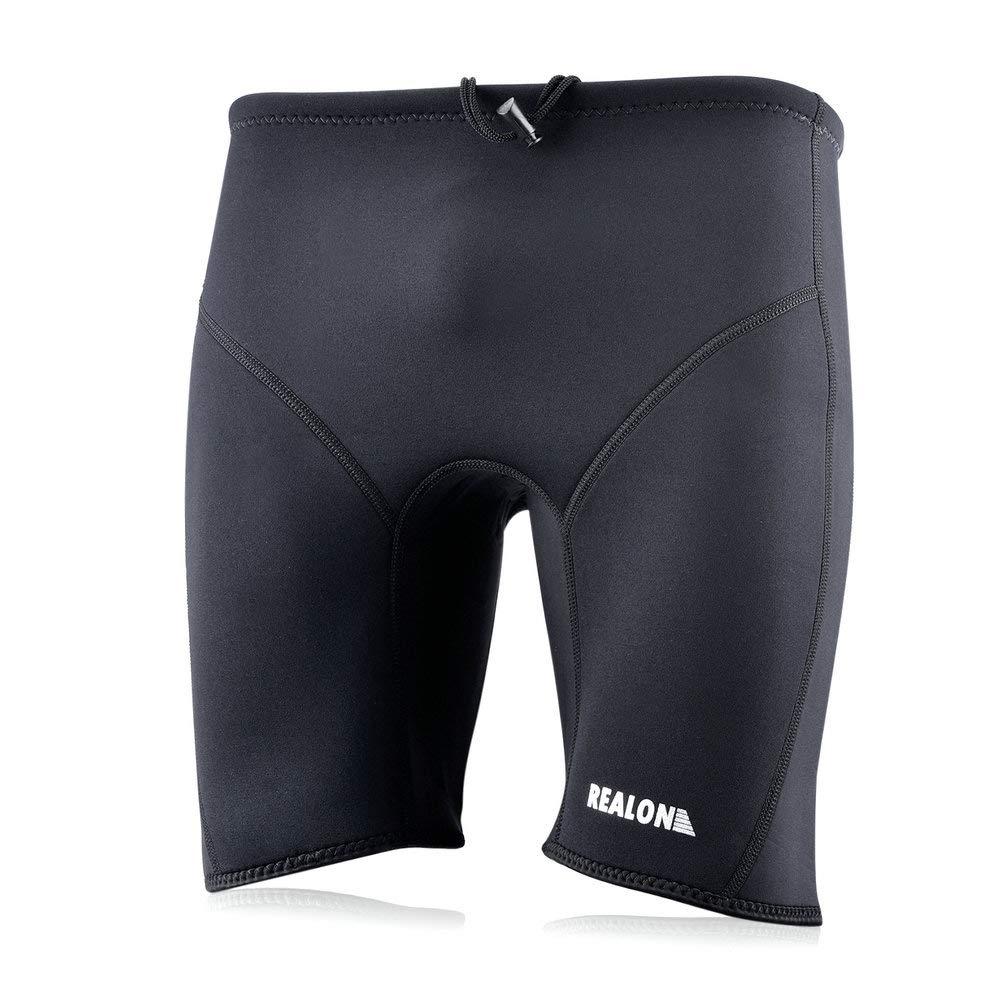 Realon Jammer Swimsuit Mens Endurance Swim Shorts Wetsuit Pants Boys Training 3mm Neoprene