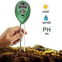 vvvvanker PH del suelo 3-en-1y comprobador de intensidad