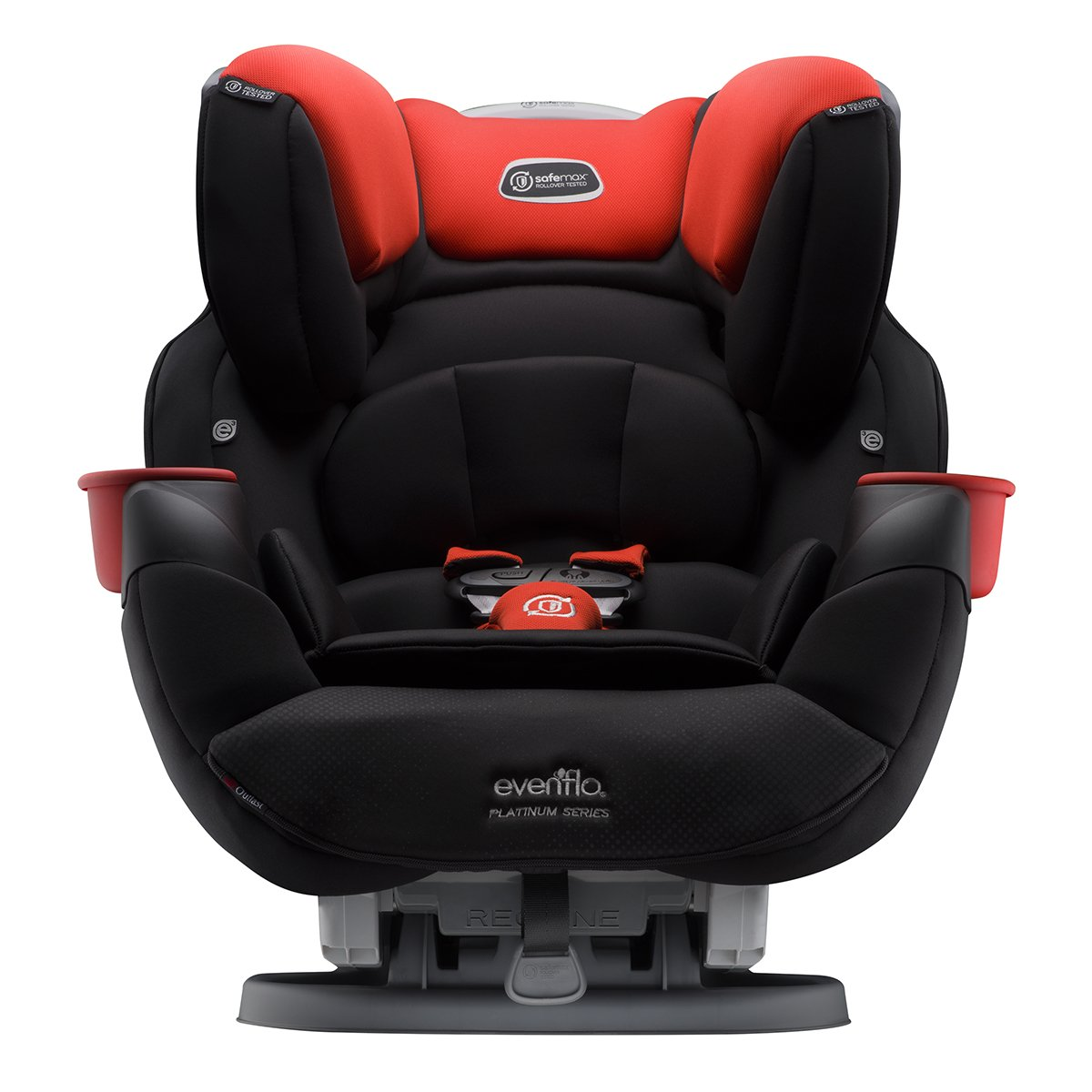 Evenflo Platinum SafeMax All-in-One Car Seat, Mason, Black, Red, One Size 38711929