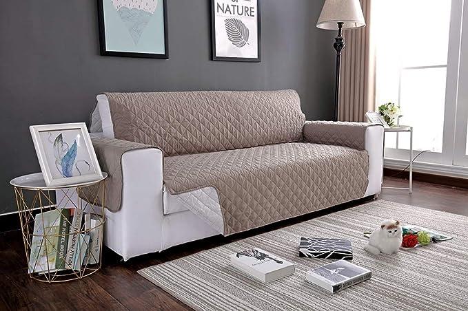 1PC Impermeable Acolchado sofá sofá Cubrir, Capa Sillón ...