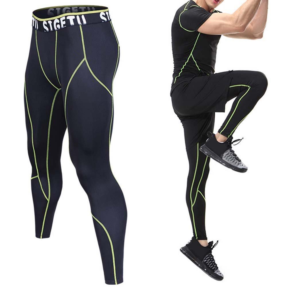 Rera Herren Sport Leggings lang Patchwork Pro Cool Compression Tights  Männer Funktionswäsche Pants  Amazon.de  Bekleidung 33fd9ba308