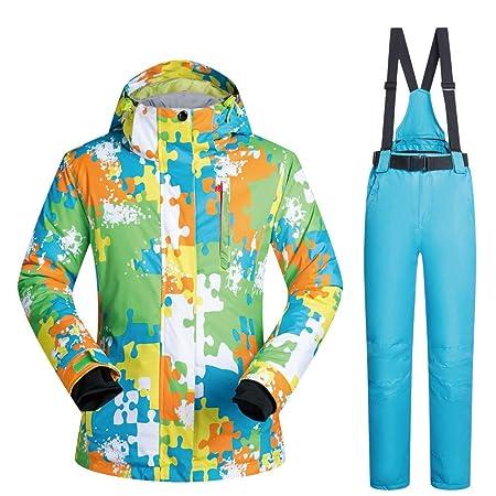 Dfghbn Women s colorful ski suits Ski Suit Women s Suit Thick Warm  Waterproof Windproof Snow Sports Snow c9d857b39