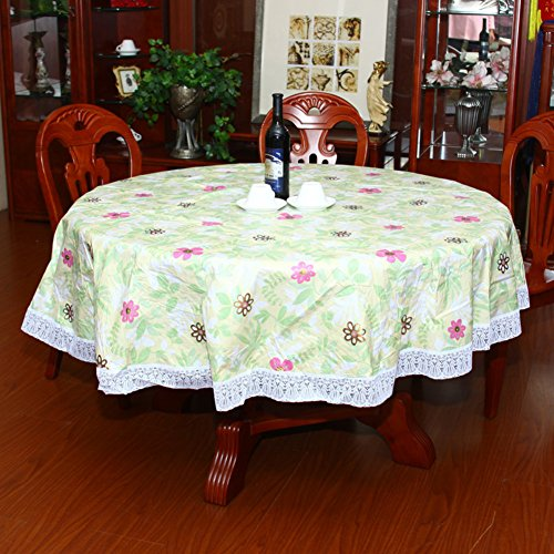 [Waterproof wallpaper]/Round table/Thickened Hotel plastic table cloth/PVC round tablecloth/Oil disposable tablecloth-H diameter152cm(60inch)