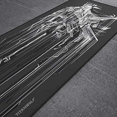 titanwolf 900x400  Titanwolf XXL Speed Gaming Mouse pad (con logo Titanwolf) | 900 x ...