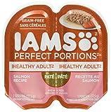 Iams Healthy Adult Grain Free Wet Cat Food, Salmon Pate, 2.6 oz. (24 Twin Packs)