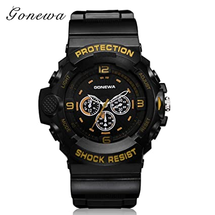 Rcool Relojes suizos relojes de lujo Relojes de pulsera Relojes para mujer Relojes para hombre Relojes deportivos,Reloj deportivo, banda de silicona, ...