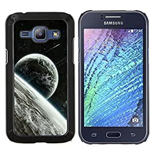 EJOOY---Cubierta de la caja de protección para la piel dura ** Samsung Galaxy J1 J100 ** --Espacio Planet Galaxy Estrellas 22