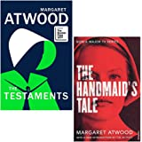 The Testaments [Hardcover], The Handmaid's Tale 2 Books Collection Set By Margaret Atwood